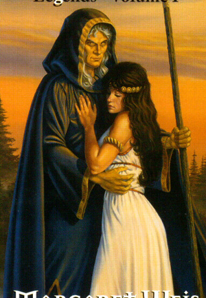 Picture of Raistlin with Crysania
